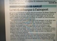 wifi roissy