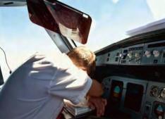 pilote fatigué