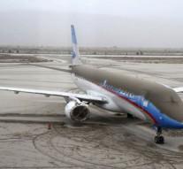 avion cendres