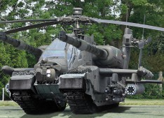 char-hélicoptère