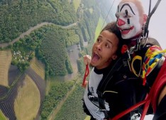 clown volant