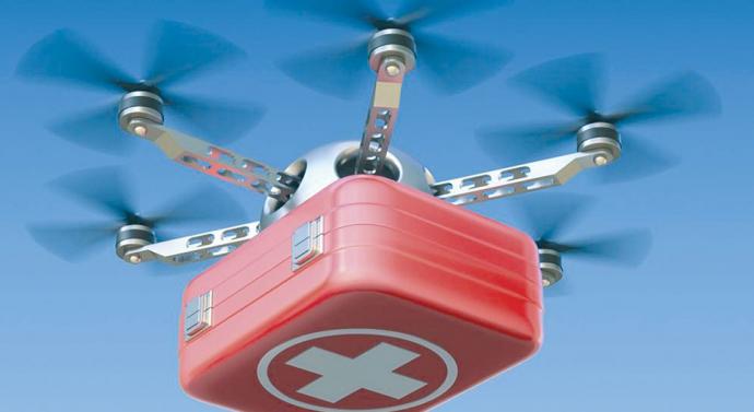 un drone de livraison d organes se trompe de destinataire et provoque une horrible m prise chez. Black Bedroom Furniture Sets. Home Design Ideas